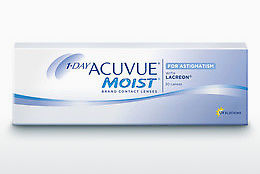 콘택트렌즈 Johnson & Johnson 1 DAY ACUVUE MOIST for ASTIGMATISM 1MA-30P-REV