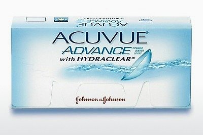 콘택트렌즈 Johnson & Johnson ACUVUE ADVANCE with HYDRACLEAR AVG-6P-REV