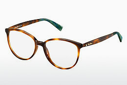 Eyewear Max Mara MM 1256 05L - 갈색, 하바나