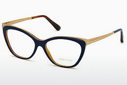 Eyewear Tom Ford FT5374 090 - 청색