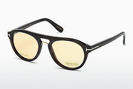 Eyewear Tom Ford FT5438-P 64E - 뿔, Horn, Brown