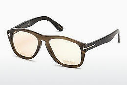 Eyewear Tom Ford FT5440-P 64E - 뿔, Horn, Brown