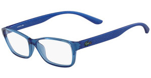 Lacoste L3803B 440 AZURE WITH GLITTER TEMPLES