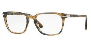 Persol PO3117V 1049 STRIPED BROWN GREY
