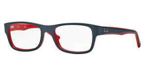 Ray-Ban RX5268 5180 TOP GREY ON RED