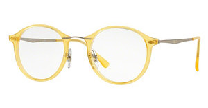 Ray-Ban RX7073 5589 MATTE YELLOW