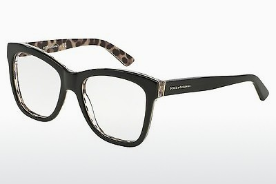 Eyewear Dolce & Gabbana ENCHANTED BEAUTIES (DG3212 2857) - 검은색, Leopard