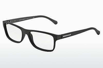 Eyewear Dolce & Gabbana OVER-MOLDED RUBBER (DG5009 2805) - 검은색