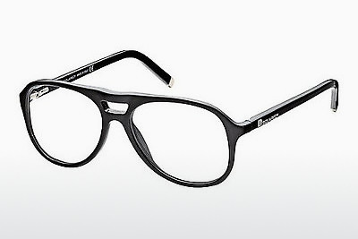 Eyewear Dsquared DQ5075 001 - 검은색, Shiny