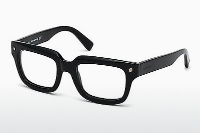 Eyewear Dsquared DQ5154 001 - 검은색, Shiny