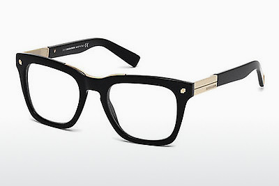 Eyewear Dsquared DQ5191 001 - 검은색, Shiny