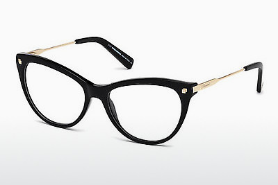Eyewear Dsquared DQ5195 001 - 검은색, Shiny
