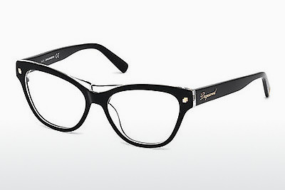Eyewear Dsquared DQ5197 003 - 검은색, Transparent