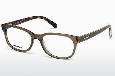 Eyewear Dsquared DQ5218 045 - 갈색, Bright, Shiny