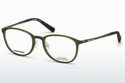 Eyewear Dsquared DQ5220 093 - 녹색, Bright, Shiny