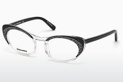 Eyewear Dsquared DQ5224 003 - 검은색, Transparent