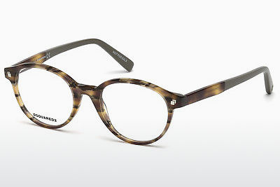 Eyewear Dsquared DQ5227 053 - 하바나, Yellow, Brown