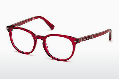 Eyewear Ermenegildo Zegna EZ5036 069 - 부르고뉴, Bordeaux, Shiny