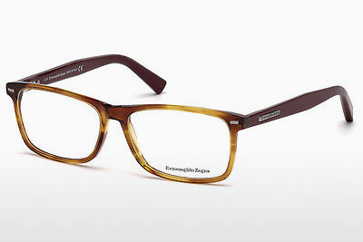 Eyewear Ermenegildo Zegna EZ5056 069 - 부르고뉴, Bordeaux, Shiny
