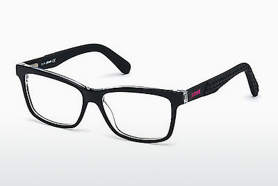 Eyewear Just Cavalli JC0642 001 - 검은색, Shiny