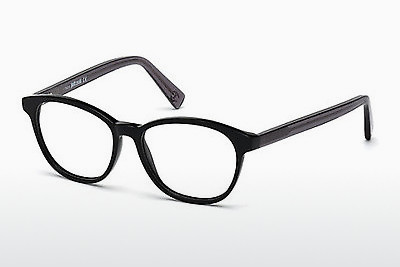 Eyewear Just Cavalli JC0684 001 - 검은색, Shiny