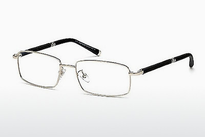 Eyewear Mont Blanc MB0396 016 - 은색, Shiny, Grey