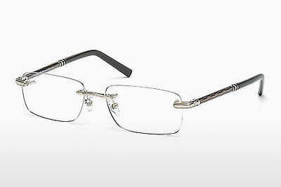 Eyewear Mont Blanc MB0432 016 - 은색, Shiny, Grey