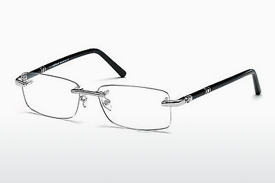 Eyewear Mont Blanc MB0476 016 - 은색, Shiny, Grey