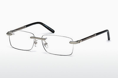 Eyewear Mont Blanc MB0492 016 - 은색, Shiny, Grey