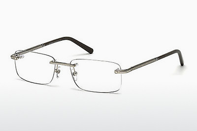 Eyewear Mont Blanc MB0538 016 - 은색, Shiny, Grey