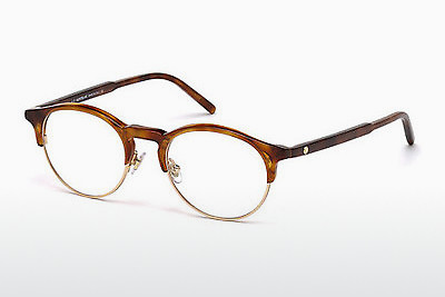 Eyewear Mont Blanc MB0555 053 - 하바나, Yellow, Blond, Brown