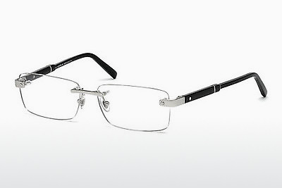 Eyewear Mont Blanc MB0617 016 - 은색, Shiny, Grey