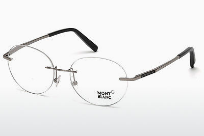 Eyewear Mont Blanc MB0691 014 - 회색, Shiny, Bright