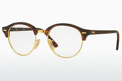 Eyewear Ray-Ban Clubround (RX4246V 2372) - 갈색, 하바나
