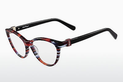 Eyewear Salvatore Ferragamo SF2761 998 - 적색, 하바나
