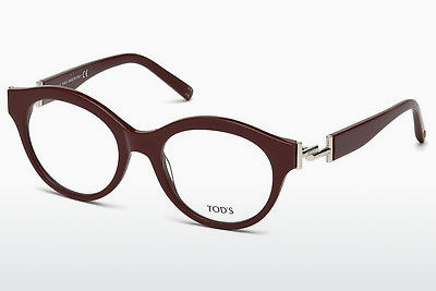 Eyewear Tod's TO5173 069 - 부르고뉴, Bordeaux, Shiny
