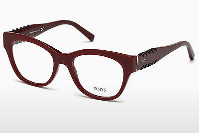 Eyewear Tod's TO5174 069 - 부르고뉴, Bordeaux, Shiny