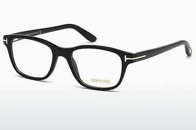 Eyewear Tom Ford FT5196 001 - 검은색, Shiny