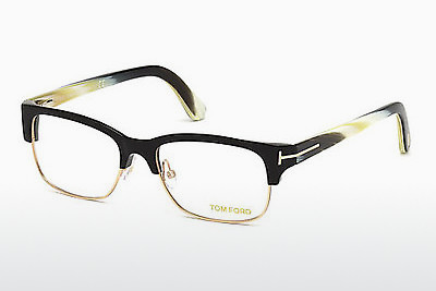 Eyewear Tom Ford FT5307 001 - 검은색, Shiny