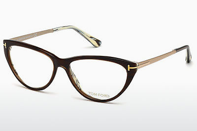 Eyewear Tom Ford FT5354 050 - 갈색, Dark