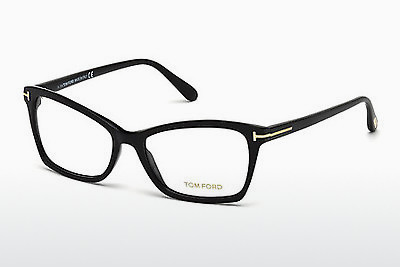 Eyewear Tom Ford FT5357 001 - 검은색, Shiny