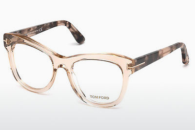 Eyewear Tom Ford FT5463 045 - 갈색, Bright, Shiny