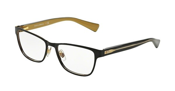 Dolce & Gabbana DG1273 1268 TOP BLACK ON GOLD
