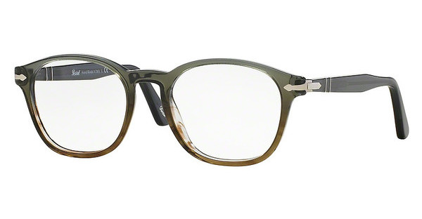 Persol PO3122V 1012 DARK GREY GRAD GREEN-BROWN