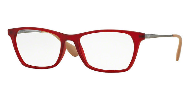Ray-Ban RX7053 5525 RUBBER RED