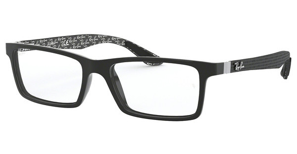 Ray-Ban RX8901 5610 TOP BLACK ON SHINY GREY