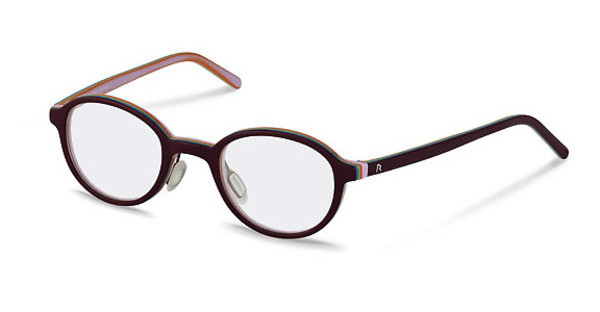 Rodenstock R5299 A dark red, rose layered