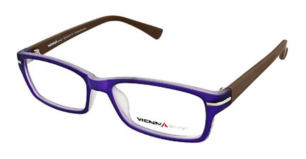 Vienna Design UN557 05 matt dark purple/x'tal-matt brown