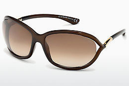선글라스 Tom Ford Jennifer (FT0008 692) - 갈색, Dark, Shiny