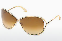 선글라스 Tom Ford Miranda (FT0130 28F) - 금색